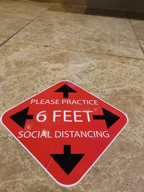 Social-Distancing-Floor-Sign