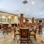 Breakfast Area at Hawthorn Suites By Wyndham West Palm Beach