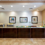 Breakfast Bar at Hawthorn Suites By Wyndham West Palm Beach