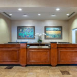 Front Desk at Hawthorn Suites By Wyndham West Palm Beach