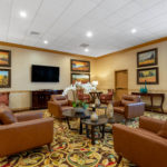 Lobby at Hawthorn Suites By Wyndham West Palm Beach